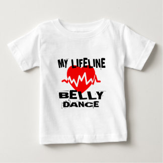 MY LIFE LINA BELLY DANCE DESIGNS BABY T-Shirt