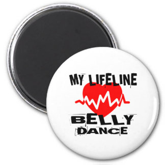 MY LIFE LINA BELLY DANCE DESIGNS MAGNET