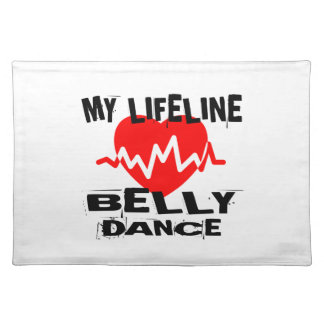 MY LIFE LINA BELLY DANCE DESIGNS PLACEMAT