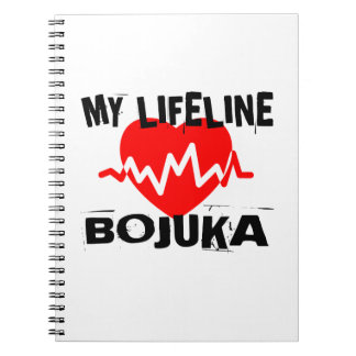 MY LIFE LINA BOJUKA MARTIAL ARTS DESIGNS NOTEBOOKS