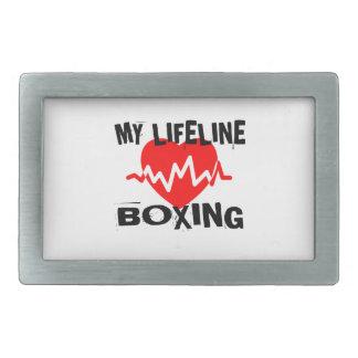 MY LIFE LINA BOXING MARTIAL ARTS DESIGNS BELT BUCKLES