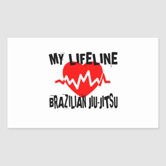 MY LIFE LINA BRAZILIAN JIU-JITSU MARTIAL ARTS DESI STICKER