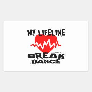 MY LIFE LINA BREAKDANCE DANCE DESIGNS STICKER