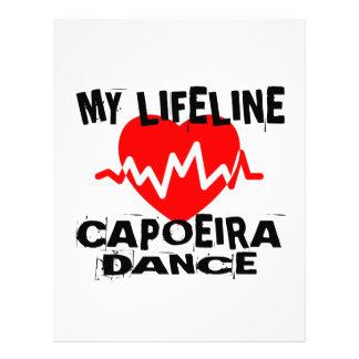 MY LIFE LINA CAPOEIRA DANCE DESIGNS LETTERHEAD