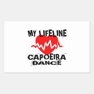 MY LIFE LINA CAPOEIRA DANCE DESIGNS STICKER