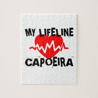 MY LIFE LINA CAPOEIRA MARTIAL ARTS DESIGNS JIGSAW PUZZLE