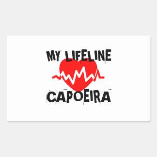 MY LIFE LINA CAPOEIRA MARTIAL ARTS DESIGNS STICKER