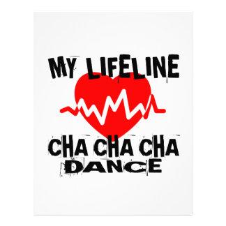 MY LIFE LINA CHA CHA CHA DANCE DESIGNS LETTERHEAD
