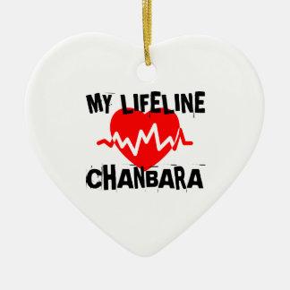 MY LIFE LINA CHANBARA MARTIAL ARTS DESIGNS CERAMIC ORNAMENT