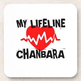 MY LIFE LINA CHANBARA MARTIAL ARTS DESIGNS COASTER