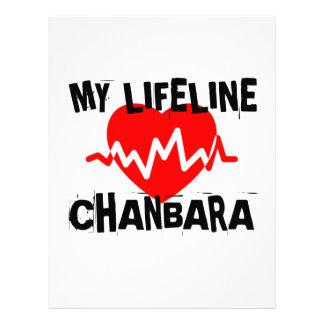 MY LIFE LINA CHANBARA MARTIAL ARTS DESIGNS LETTERHEAD