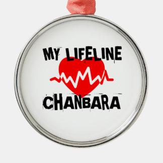 MY LIFE LINA CHANBARA MARTIAL ARTS DESIGNS METAL ORNAMENT