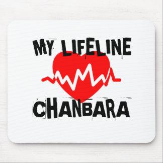 MY LIFE LINA CHANBARA MARTIAL ARTS DESIGNS MOUSE PAD