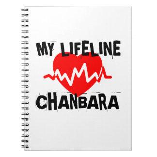 MY LIFE LINA CHANBARA MARTIAL ARTS DESIGNS NOTEBOOK