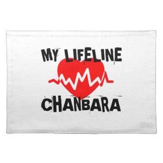 MY LIFE LINA CHANBARA MARTIAL ARTS DESIGNS PLACEMAT
