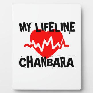 MY LIFE LINA CHANBARA MARTIAL ARTS DESIGNS PLAQUE
