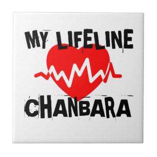 MY LIFE LINA CHANBARA MARTIAL ARTS DESIGNS TILE