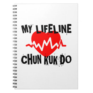 MY LIFE LINA CHUN KUK DO MARTIAL ARTS DESIGNS SPIRAL NOTEBOOK