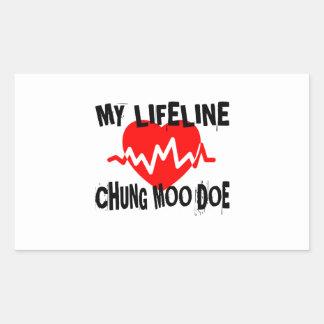 MY LIFE LINA CHUNG MOO DOE MARTIAL ARTS DESIGNS STICKER