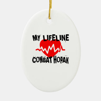 MY LIFE LINA COMBAT HOPAK MARTIAL ARTS DESIGNS CERAMIC ORNAMENT