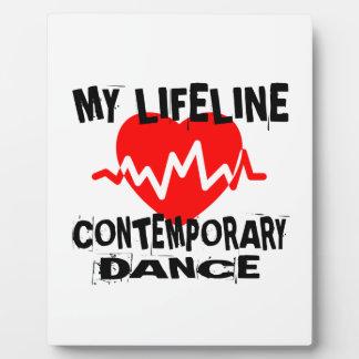 MY LIFE LINA CONTEMPORARY DANCE DESIGNS PLAQUE