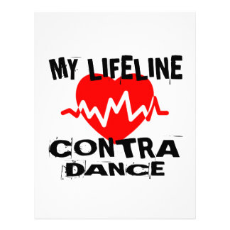 MY LIFE LINA CONTRA DANCING DANCE DESIGNS LETTERHEAD