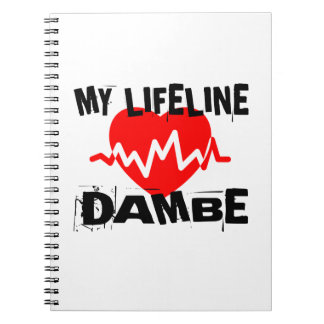 MY LIFE LINA DAMBE MARTIAL ARTS DESIGNS NOTEBOOK