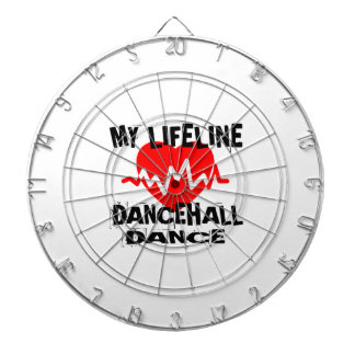 MY LIFE LINA DANCEHALL DANCE DESIGNS DARTBOARD