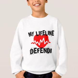 MY LIFE LINA DEFENDU MARTIAL ARTS DESIGNS SWEATSHIRT