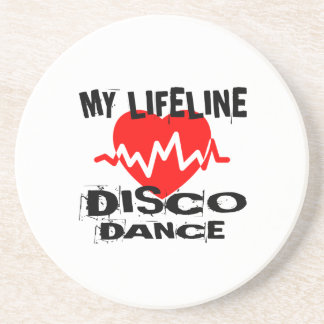 MY LIFE LINA DISCO DANCE DESIGNS COASTER