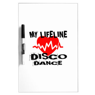 MY LIFE LINA DISCO DANCE DESIGNS DRY ERASE BOARD