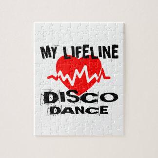 MY LIFE LINA DISCO DANCE DESIGNS JIGSAW PUZZLE