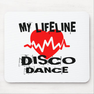 MY LIFE LINA DISCO DANCE DESIGNS MOUSE PAD