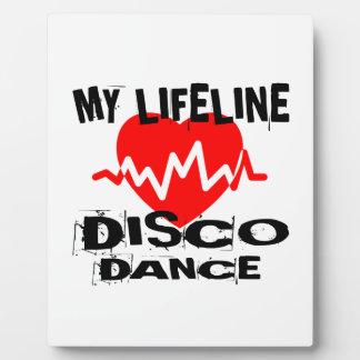 MY LIFE LINA DISCO DANCE DESIGNS PLAQUE