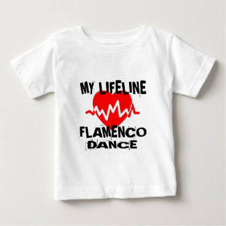 MY LIFE LINA FLAMENCO DANCE DESIGNS BABY T-Shirt