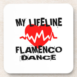 MY LIFE LINA FLAMENCO DANCE DESIGNS COASTER