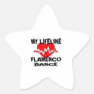 MY LIFE LINA FLAMENCO DANCE DESIGNS STAR STICKER