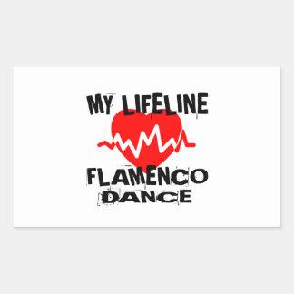 MY LIFE LINA FLAMENCO DANCE DESIGNS STICKER