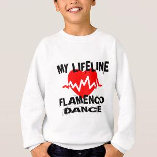 MY LIFE LINA FLAMENCO DANCE DESIGNS SWEATSHIRT