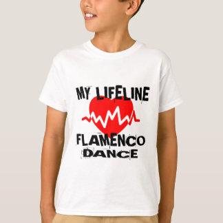 MY LIFE LINA FLAMENCO DANCE DESIGNS T-Shirt