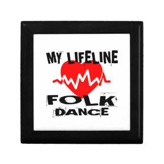 MY LIFE LINA FOLK DANCE DESIGNS GIFT BOX
