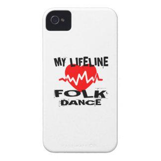 MY LIFE LINA FOLK DANCE DESIGNS iPhone 4 COVERS