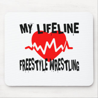 MY LIFE LINA FREESTYLE WRESTLING MARTIAL ARTS DESI MOUSE PAD