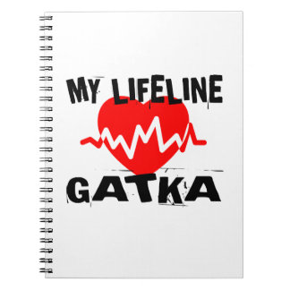 MY LIFE LINA GATKA MARTIAL ARTS DESIGNS NOTEBOOKS