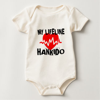 MY LIFE LINA HANKIDO MARTIAL ARTS DESIGNS BABY BODYSUIT