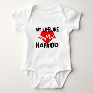 MY LIFE LINA HAPKIDO MARTIAL ARTS DESIGNS BABY BODYSUIT
