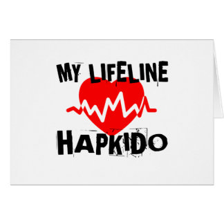 MY LIFE LINA HAPKIDO MARTIAL ARTS DESIGNS CARD