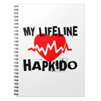 MY LIFE LINA HAPKIDO MARTIAL ARTS DESIGNS NOTEBOOK