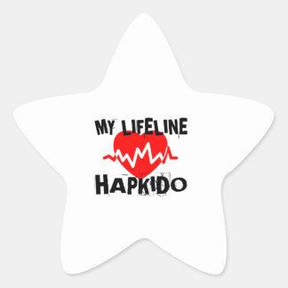 MY LIFE LINA HAPKIDO MARTIAL ARTS DESIGNS STAR STICKER