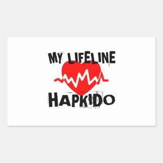 MY LIFE LINA HAPKIDO MARTIAL ARTS DESIGNS STICKER